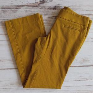 Loft Mustard Petite Slacks. #D357